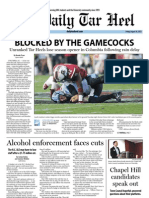 The Daily Tar Heel for August 30, 2013