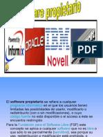 Presentacion software propietario