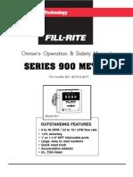 Fill Rite Series 900spanish