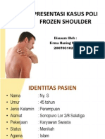 Ppt Presus Frozen Shoulder