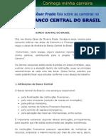 BACEN - Cesar Frade - Carreiras
