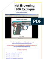 Pistolet Browning FN 1906 Expliqué