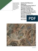 Soil Report - Sam Yazzie Homesite