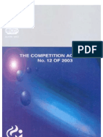 Competition Act 2002 India