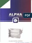 Alpha Volume Control Dempers