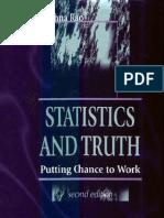 Statistics and Truth CRRao