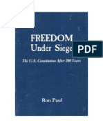 Freedom Under Siege, The US Constitution After 200 Years (Pol) PDF Paul,Ron