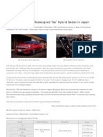 2014 Toyota Sai Press Release