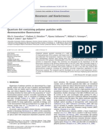 Quantum Dot Containingpolymerparticleswith