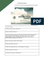Motorcycle Diaries Worksheet