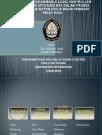 Ppt Sidang Aplikasi PLC Untuk Mesin Pelet