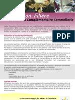 Information Filière MC Sommellerie