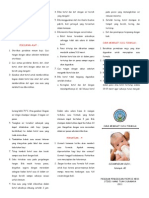 Leaflet Cara Membuat Susu Formula