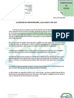 Cdp 30 Aout - Lille FNEO
