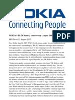 Ajeet Nokia Contraversy