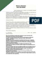 Glosas y Discurso San Martin