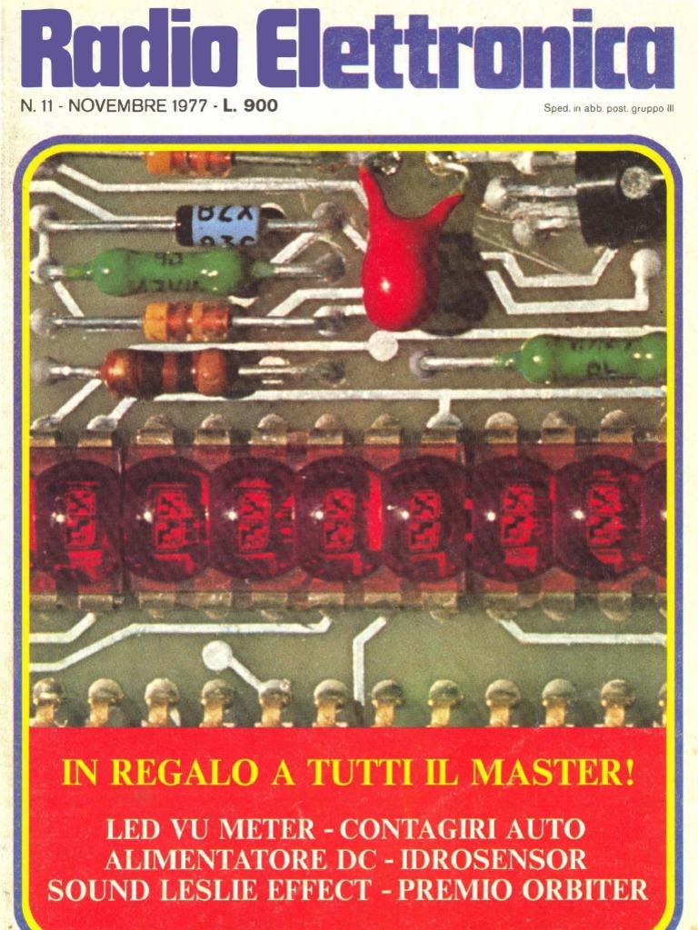 Schemi Elettrici Lesa : Radio elettronica 1977 11