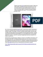 Axioo Kembali Luncurkan Axioo Picopad 7+ 3G