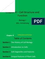 Chapter 4 Cell Structure and Function Ehsweb