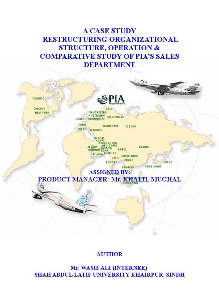 pia organizational structure