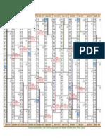 Calendrier de commercialisation des menus 2013-2014