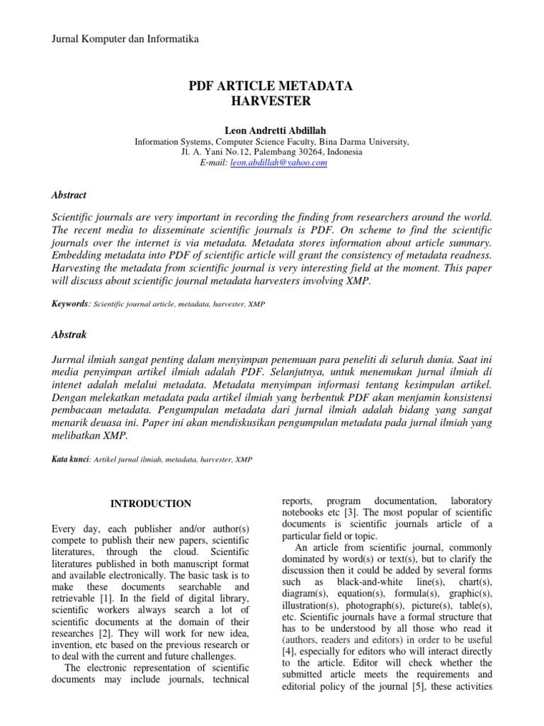 1301 6591 Metadata Portable Document Format