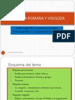 2013. Hispania romana y visigoda. Presentación.pdf