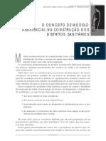 O conceito de modelo assistencial na construção dos distritos sanitarios