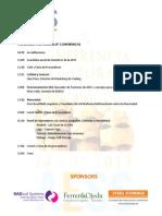 Programa Provisional 8 Conferencia