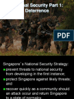 National Securnopity 1 Deterrence