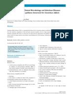 Fulltext Treatment Guidance Clostridium Difficile Infection