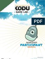 Designing Games With Kodu Game Lab - Participant Manual v2