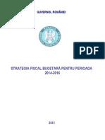 Strategia fiscal_bugetara 2014_2016