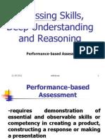 Performance Based Assessment