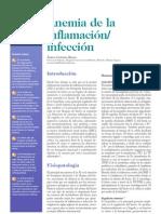 Anemia de la inflamación- infección