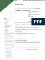 Backing Up SAP Data With RMAN _ Symantec Backup Exec