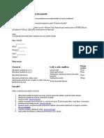 Banca Transilvania Lista Documente