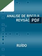 ANALISE DE RISCO II REVISÃO