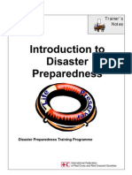 Introduction to Disaster Prepareness [Red Cresent & Red Cross Training Workshop]
