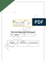 3G Sample Cluster DT Report