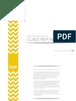 Exec Class Rep Handbook 2013