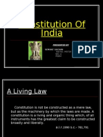 Constitution of India (Hemant Sachan)