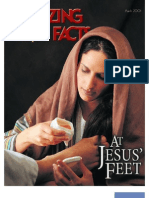 March 2001 [at Jesus' Feet]