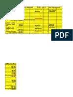 1 Matrix Workings - Case Study -Blank Matrix Sheet - SW--------Account Statement