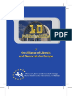 10 Priorities Booklet -  Alliance of Liberals and Democrats for Europe