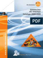 Sistema bus AS-Interface 2008/2009