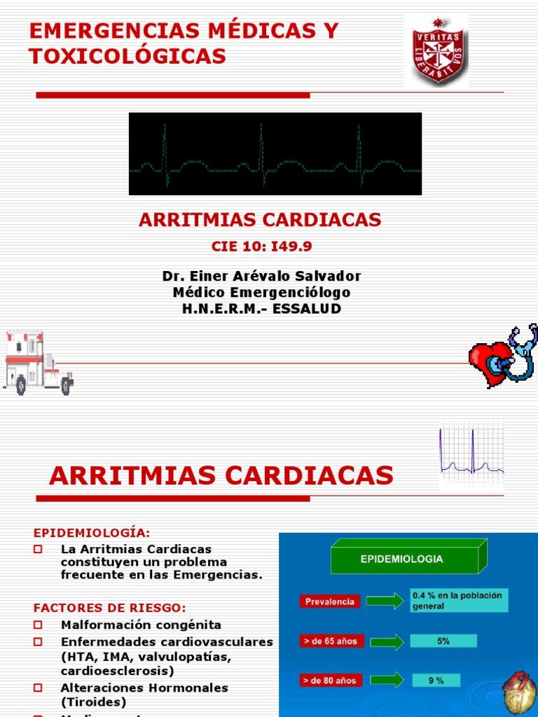Clase 5 Arritmias Cardiacas 2013 USMP