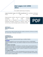 Legea Locuintei Legea 114 1996 Actualizata 2011