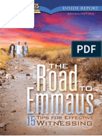 July, August, September 2010 [the Road to Emmaus (15 Tips for Effective Witnessesing)]