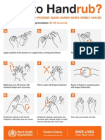 How to HandRub Poster